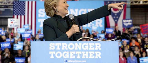 Clinton, Trump keep campaigning