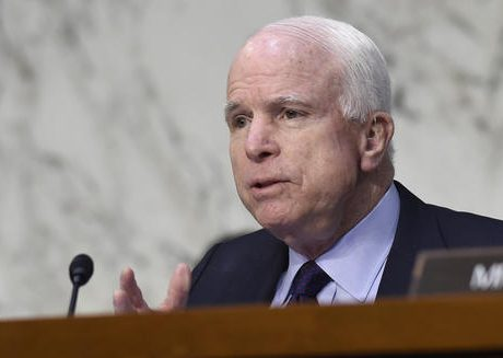 McCain under fire for breaking from Trump