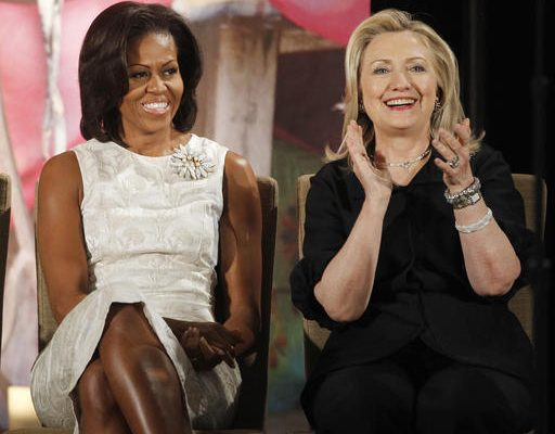 Michele Obama & Hillary Clinton: Political odd couple