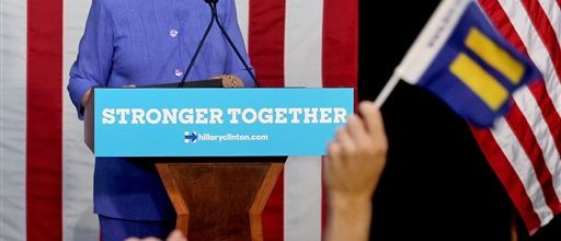 Clinton charges on, seeks to galvanize