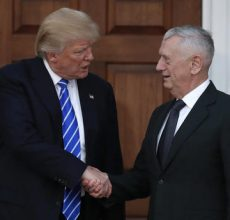 Trump picks Gen. Mattis for Defense Sec.