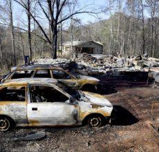 The horror of fire in Gatlinburg, Tenn.