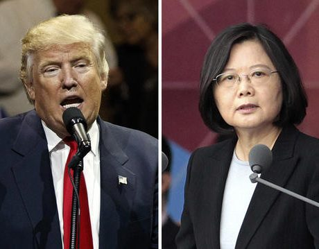Trump contact with Taiwan irks China
