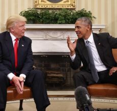 Trump & Obama: Now buddies?