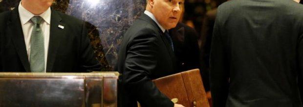 Trump selects EPA foe at its new boss
