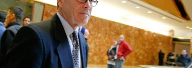 Trump favors Perry for Energy Sec.