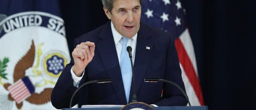 Kerry defends U.N. vote