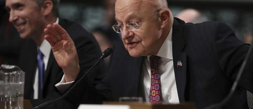Clapper: Russia tampered with election