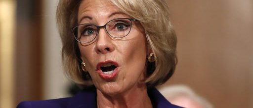 DeVos headed for Senate showdown