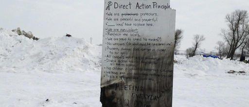 Tribe sues to block Dakota pipeline