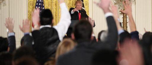 Trump's press attacks stirs memories