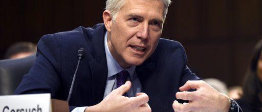 Senate showdown on Gorsuch begins
