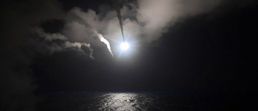 Russia unhappy with missile strikes