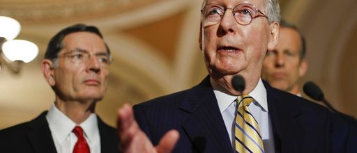 Senate sends spending bill to Trump