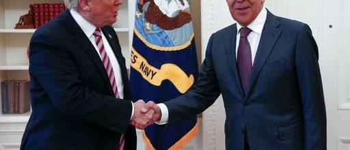 Trump defends giving secrets to Russians