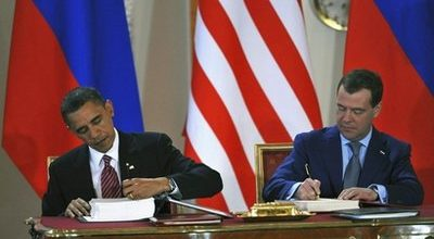 Obama, Medvedev sign new nuke treaty