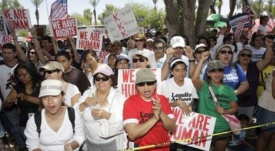 Lawsuits expected over Arizona immigration law