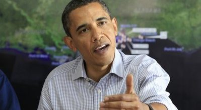 Obama tries anger in latest attempt to salvage Presidency