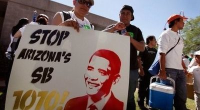 Feds sue to stop AZ immigration law