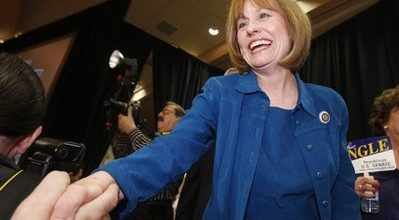 Can Sharron Angle beat Harry Reid?