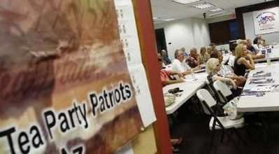 Tea Party becomes face of the new GOP