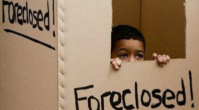 Foreclosures rise again