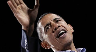 On final weekend campaign swing, Obama lashes out at GOP