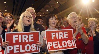 A bitter defeat for Nancy Pelosi
