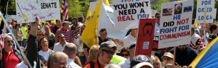 Tea Party's diverse agenda could be a problem