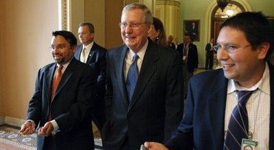 McConnell flips and backs ban on pork barrel spending