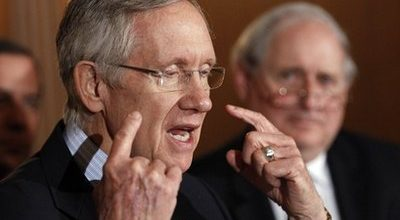 Reid says improving economy will kill tea party