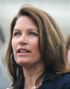 Bachmann's response sounds more like a campaign speech