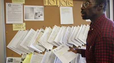 So, why are the jobless numbers so high?