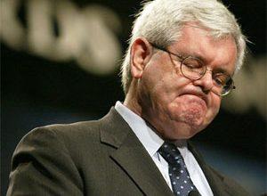 Gingrich struggles to raise campaign cash