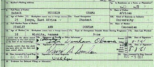 Obama releases full birth certificate info