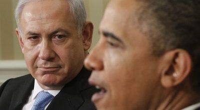 Netanyahu, Obama clash over borders