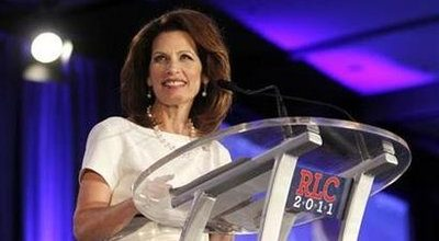 Bachmann shines while Pawlenty dims