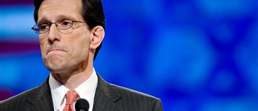 Eric Cantor's tea party terrorism threatens America