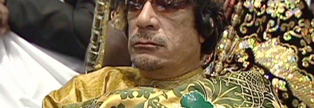Gadhafi killed by Libyan rebels