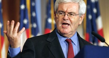Newt rises from the political ashes