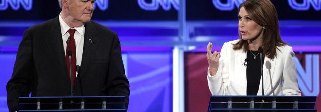 Gingrich rolls the dice in latest GOP gabfest