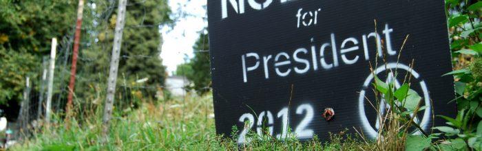 Presidential election trauma: Who do you dislike least?