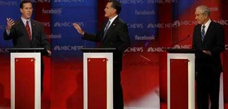 Romney roughed up a little in second New Hampshire debate