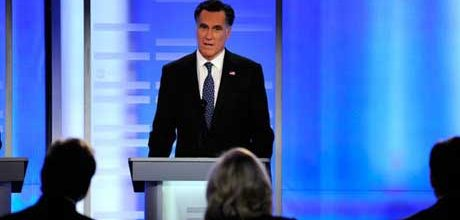 Romney emerges unscathed from first New Hampshire debate