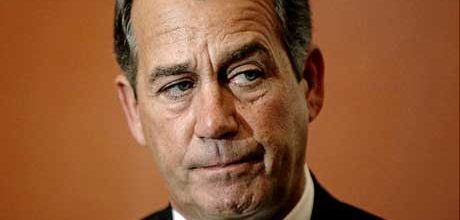 Boehner fed up with obstruction by tea party GOP Reps