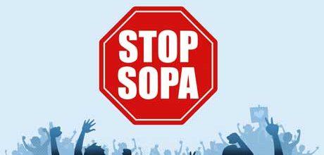 Protest stalls anti-piracy bill