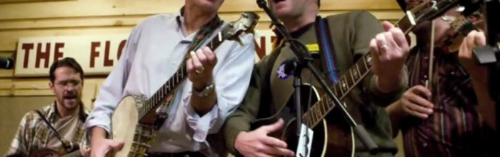 Mixing bluegrass music and politics