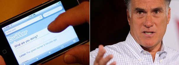 Is Romney packing Twitter with phony followers?