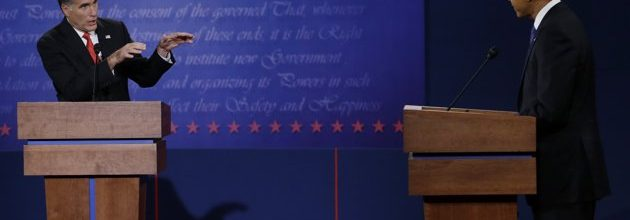 The Debates, Round One: Aggressive Romney comes out swinging