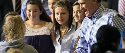 Romney backs off harsh rhetoric, preaches post-Sandy unity